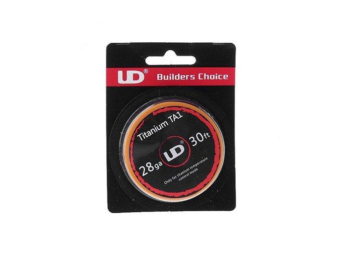 UD drôt Standard Wire Titanium TA1