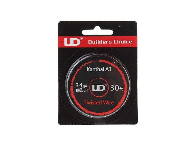 UD drôt Twisted Wire 34ga+Ribbon Kanthal A1