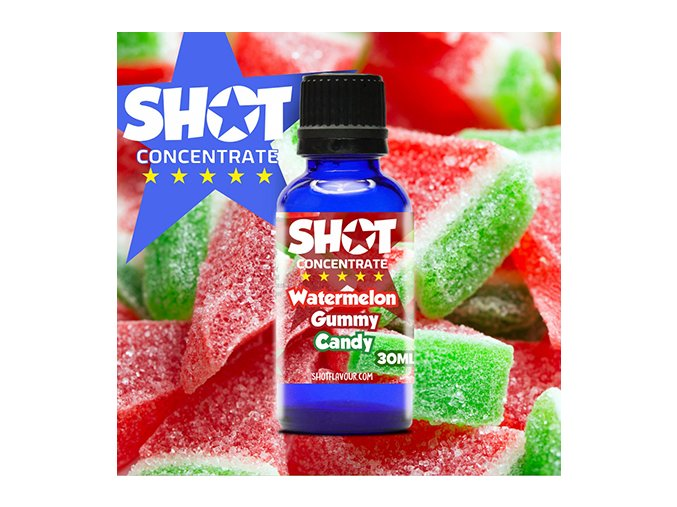 SHOT Concentrate Watermelon Gummy Candy