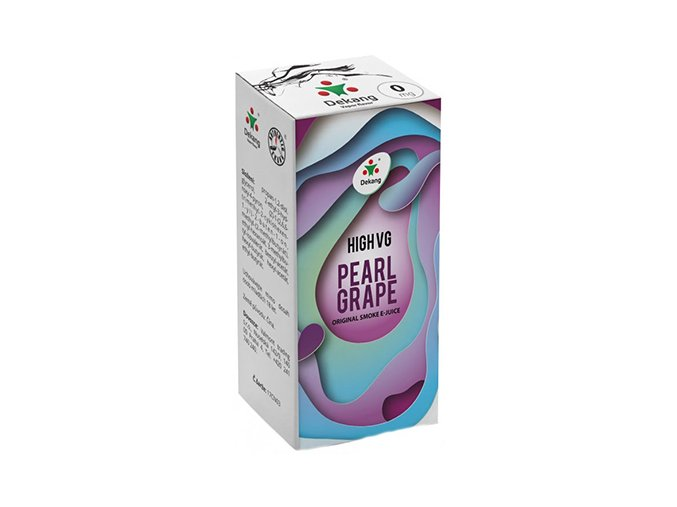 liquid dekang high vg pearl grape 10ml 0mg hrozny s matou