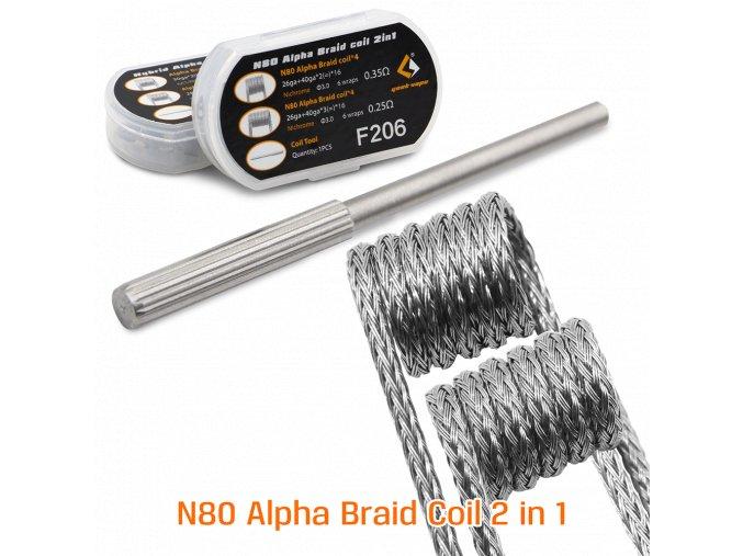 Geekvape N80 Alpha Braid Coil 2in1