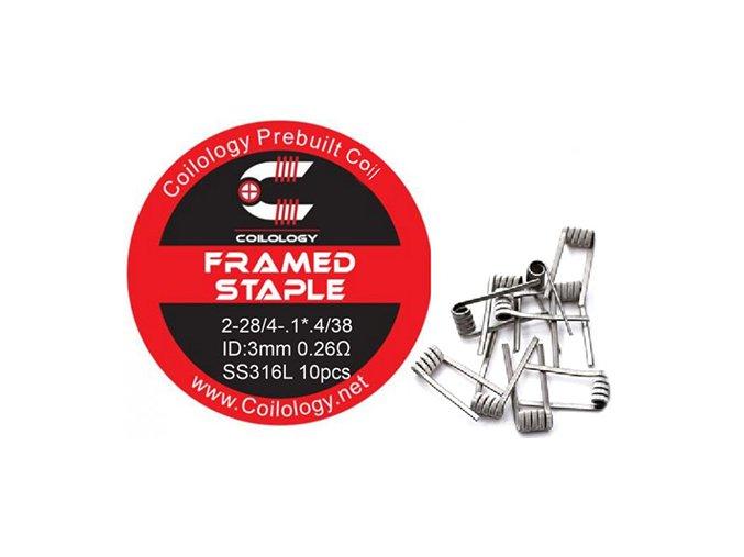 Coilology Framed Staple Coil SS316L