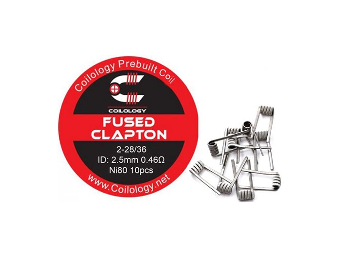Coilology Fused Clapton Coil Ni80
