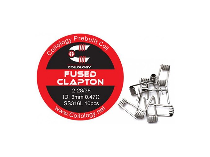 Coilology Fused Clapton Coil SS316L