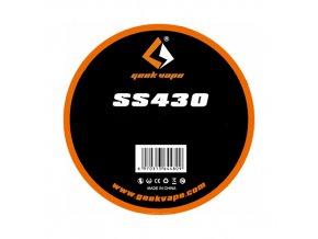 GeekVape drôt Standard Wire SS430