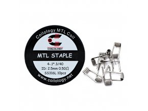 Coilology MTL Staple Coil SS316