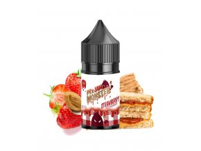 pb jam monster strawberry concentre 30ml 4