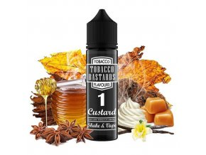 Flavormonks Tobacco Bastards Shake & Vape No.01 Custard