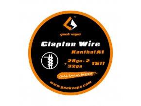 GeekVape drôt Clapton Wire 28ga*2+32ga Kanthal A1