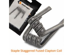 Staple Staggered Fused Clapton Coil 001