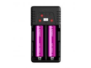 Efest BIO V2 Dual USB nabíjačka pre monočlánky