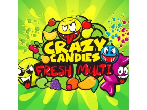 BM LIQUIDS CRAZY CANDIES FRESH MULTI