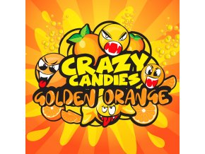 BM LIQUIDS CRAZY CANDIES GOLDEN ORANGE