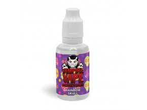 use concentrate rainbow skull