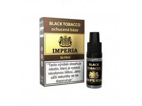 ochucena baze imperia black tobacco 5x10ml 0mg.png