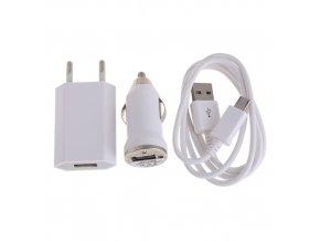 nabíjačka univerzálna micro USB 3v1