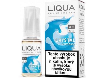 LIQUA SK Crystal Vape Base 10ml-18mg (Pouze pro Slovenský Trh)