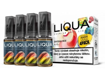 Liquid LIQUA CZ MIX 4Pack Shisha Mix 10ml-6mg