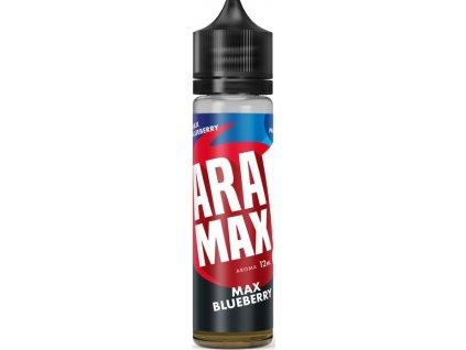 Příchuť Aramax Shake and Vape 12ml Max Blueberry