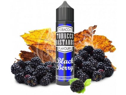 Příchuť Flavormonks Tobacco Bastards Shake and Vape 12ml Blackberry Tobacco