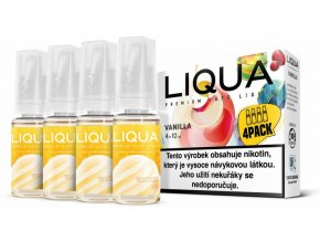 Liquid LIQUA CZ Elements 4Pack Vanilla 4x10ml-3mg (Vanilka)