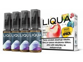 Liquid LIQUA CZ MIX 4Pack Ice Fruit 10ml-6mg