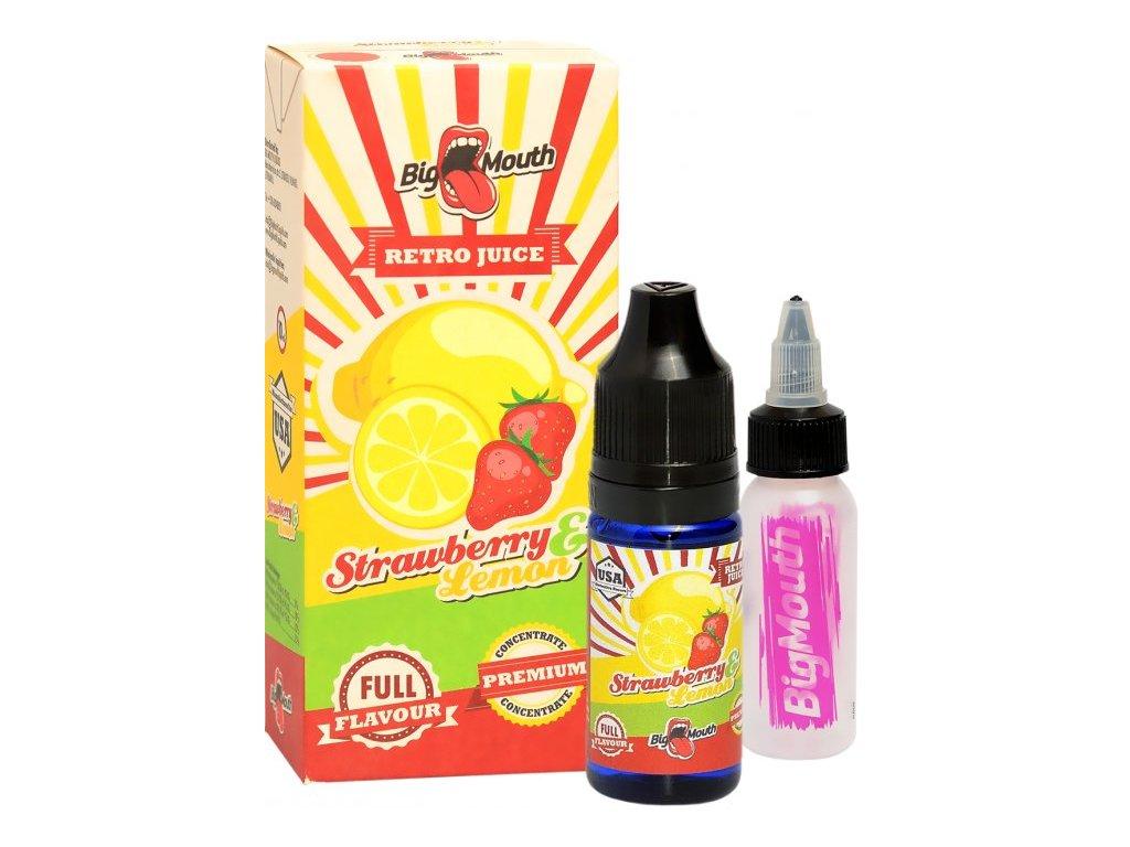 Příchuť Big Mouth RETRO - Strawberry and Lemon