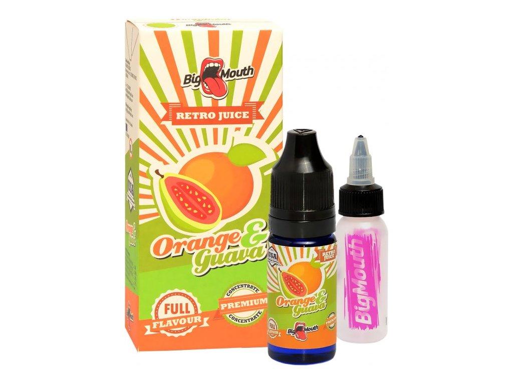 Příchuť Big Mouth RETRO - Orange and Guava