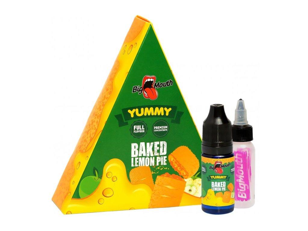 Příchuť Big Mouth YUMMY - Baked Lemon Pie
