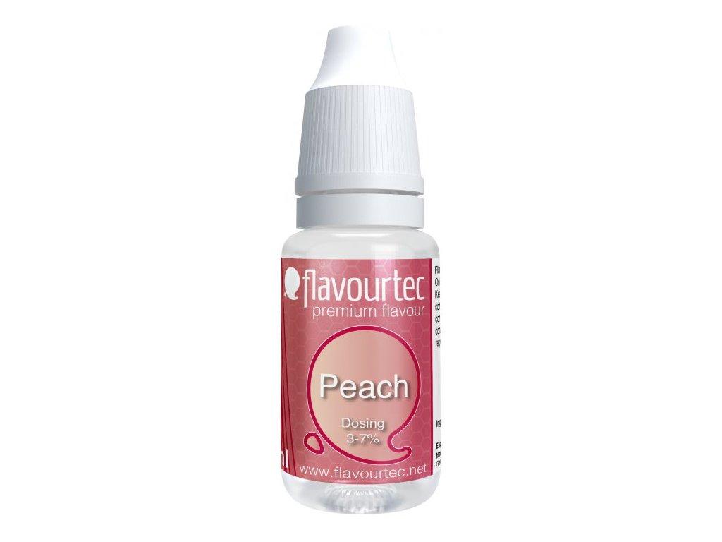 Příchuť Flavourtec Peach 10ml (Broskev)