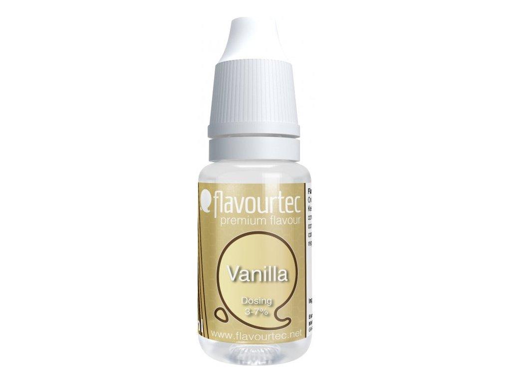 Příchuť Flavourtec Vanilia 10ml (Vanilka)