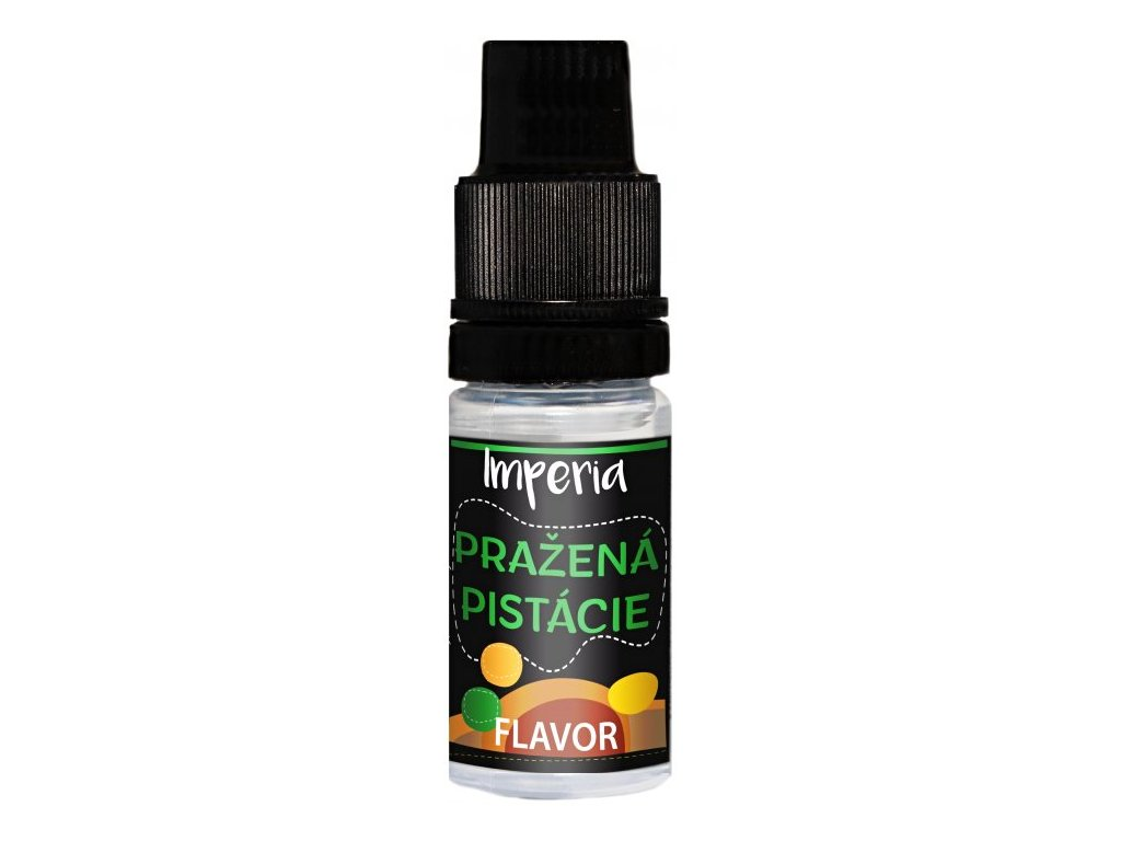 Příchuť IMPERIA Black Label 10ml Roasted Pistachios (Pražené pistácie)
