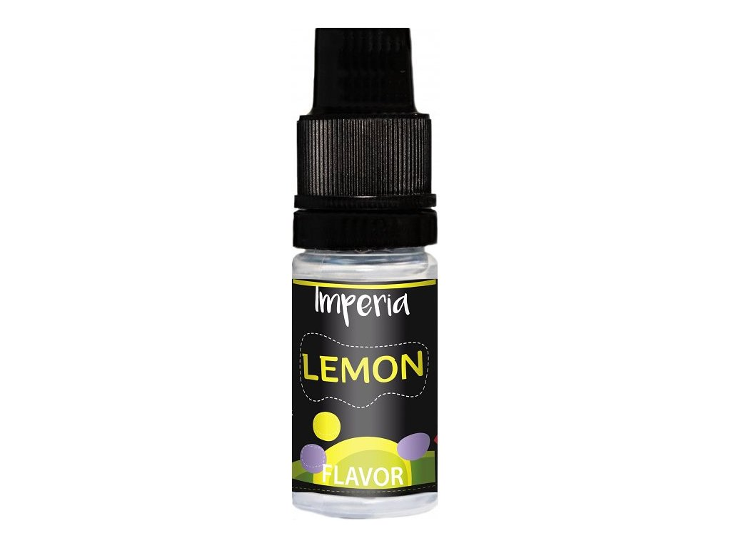 Příchuť IMPERIA Black Label 10ml Lemon (Citrón)