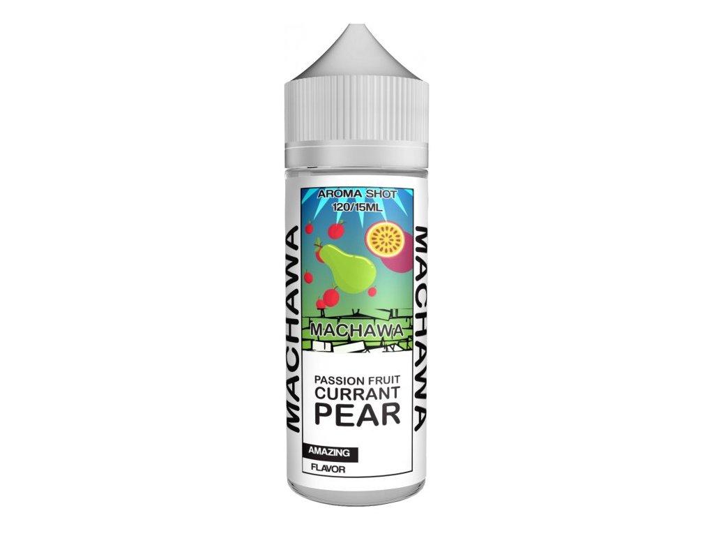 Příchuť MACHAWA Shake and Vape 15ml Passion Fruit and Pear