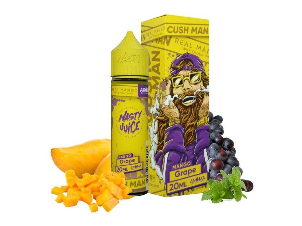 Příchuť Nasty Juice - CushMan S&V 20ml Grape Mango