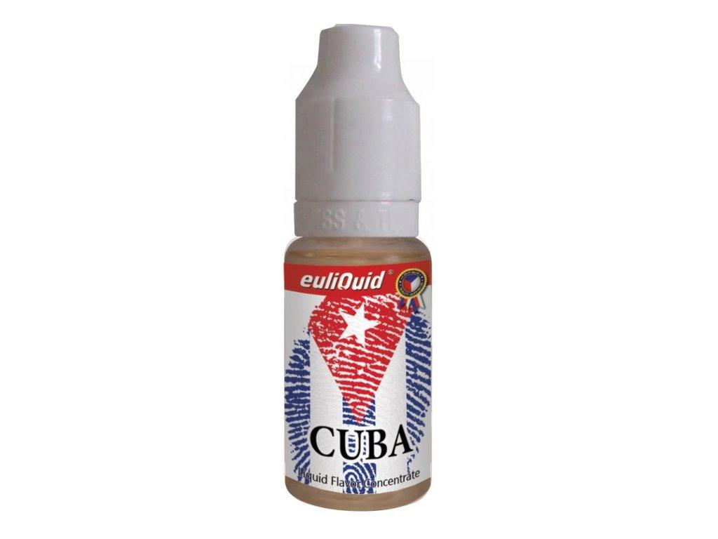 Příchuť EULIQUID Cuba Tabák 10ml