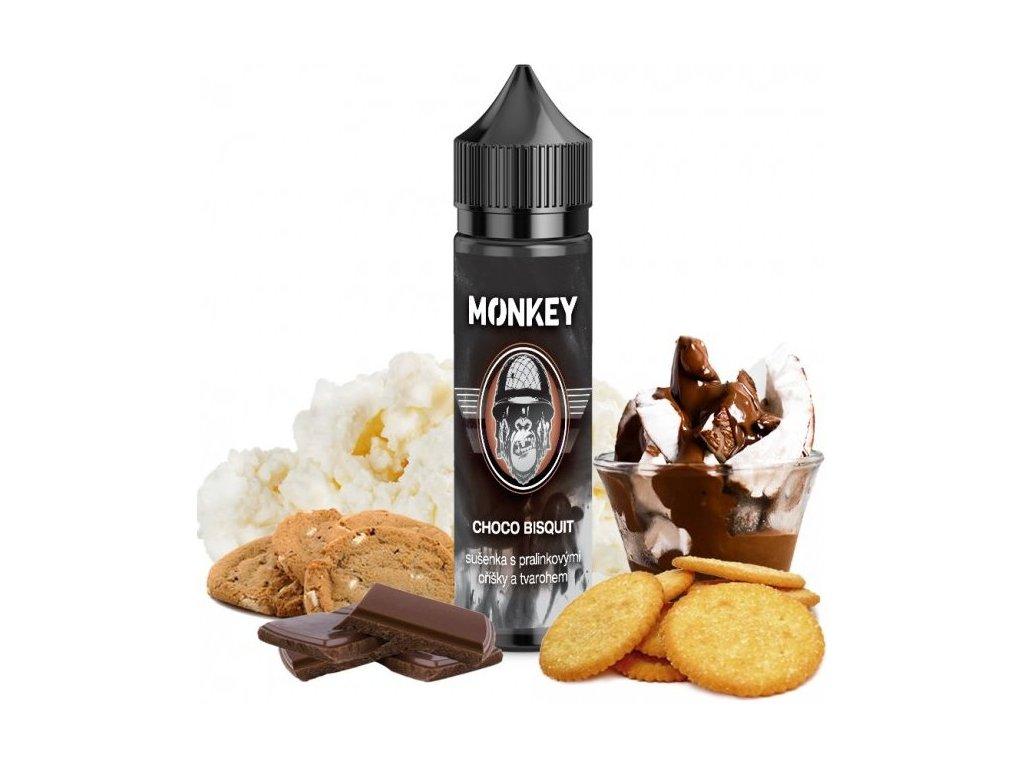 Příchuť MONKEY liquid Shake and Vape Choco Bisquit 12ml