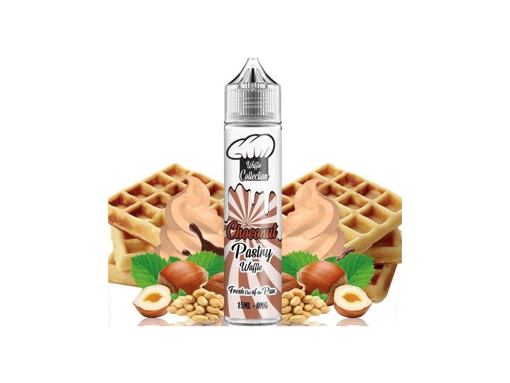 Příchuť Waffle Collection Shake and Vape 15ml Choconut Pastry