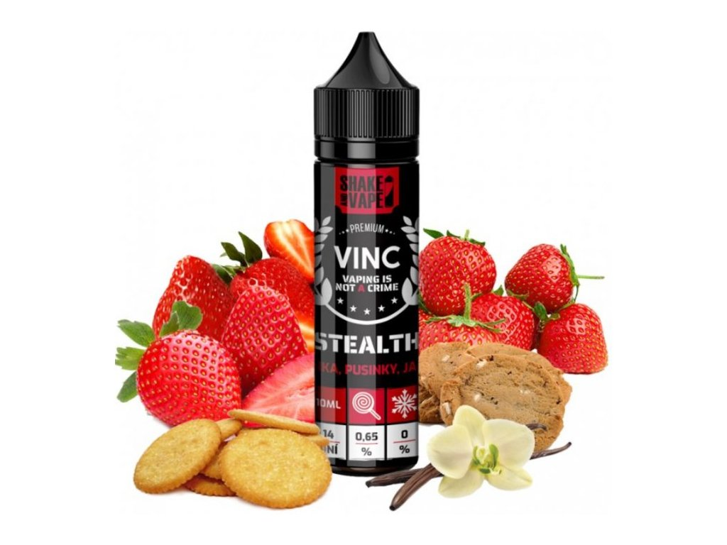 Příchuť VINC Shake and Vape 10ml Stealth