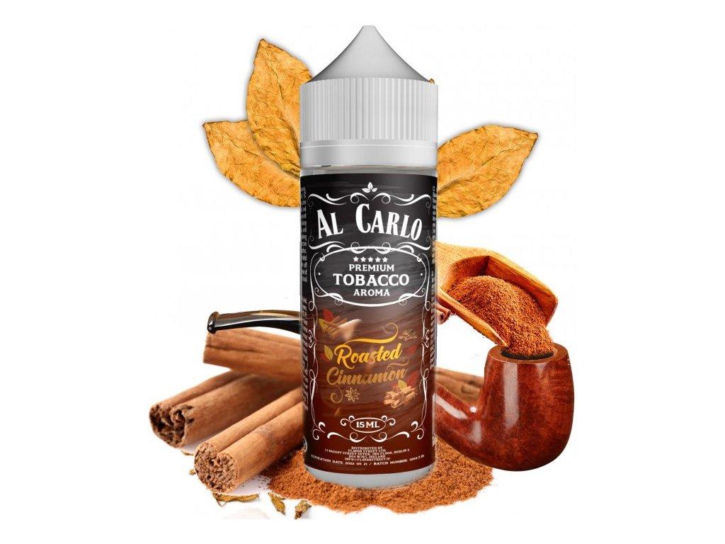 Příchuť Al Carlo Shake and Vape 15ml Roasted Cinnamon