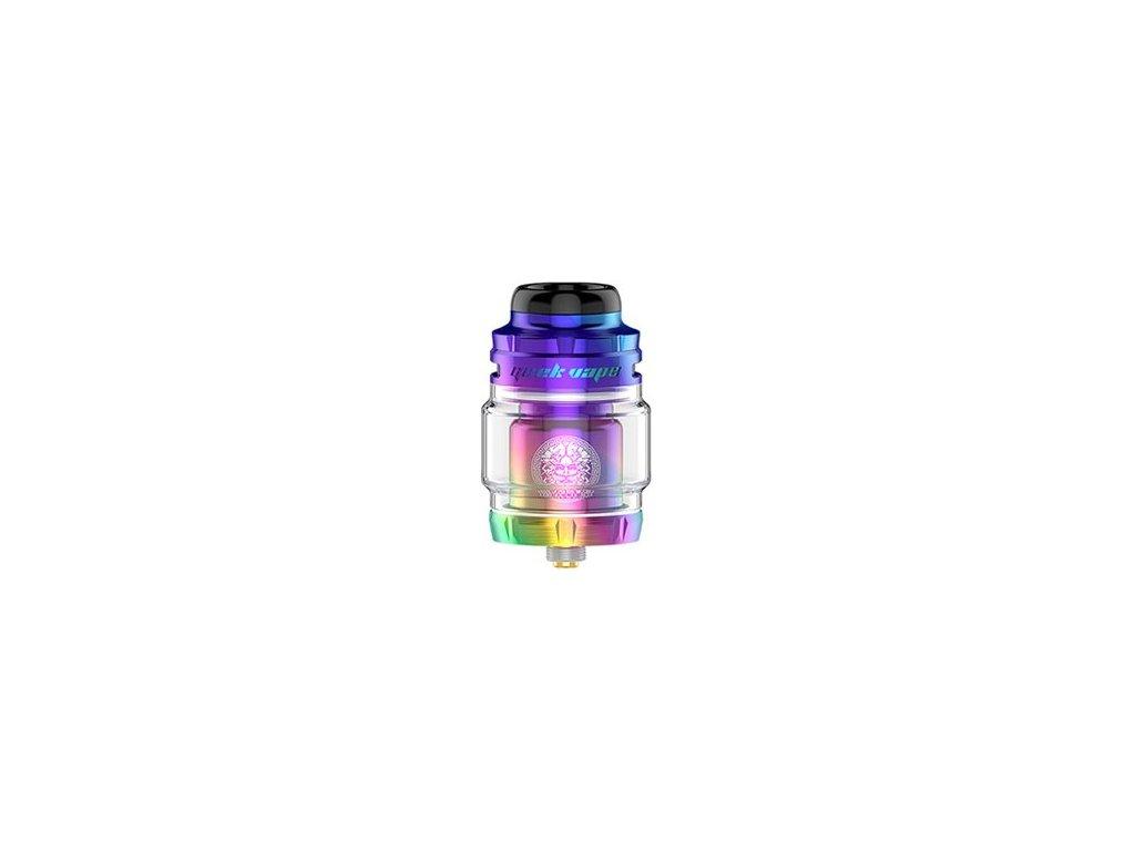 GeekVape Zeus X Mesh RTA clearomizer Rainbow