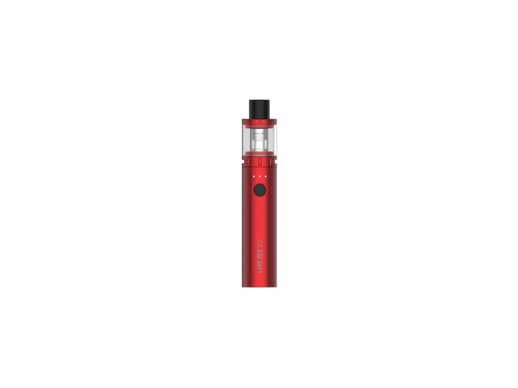 Smoktech Vape Pen V2 elektronická cigareta 1600mAh Red