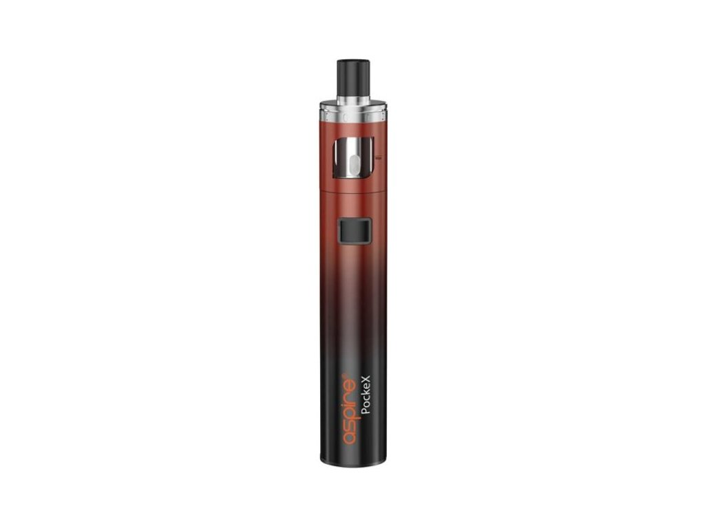 aSpire PockeX AIO elektronická cigareta 1500mAh ANNIVERSARY EDITION Black Red