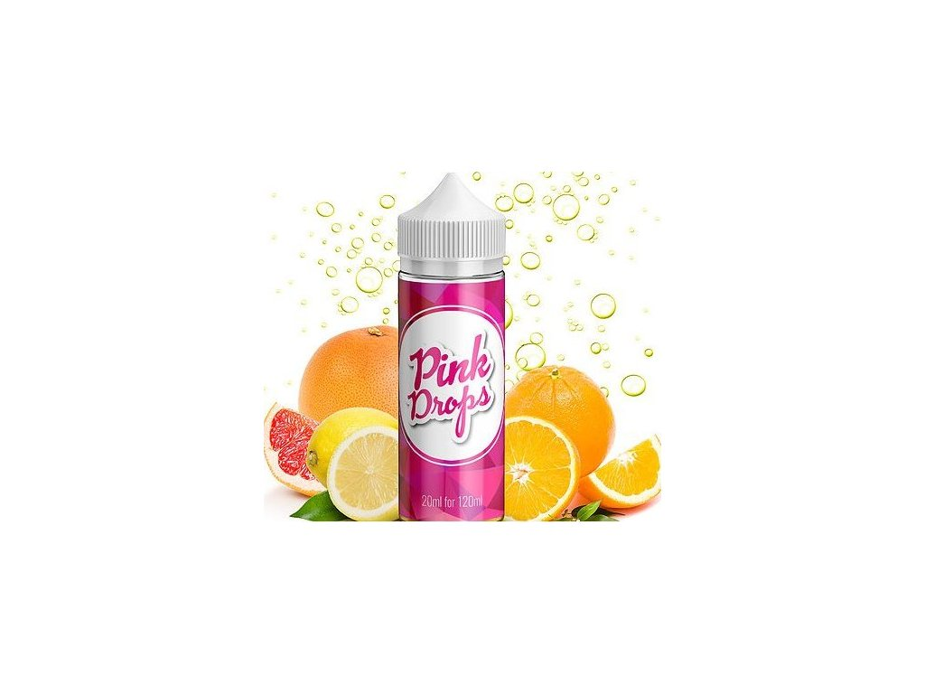 Příchuť Infamous Drops Shake and Vape 20ml Pink Drops