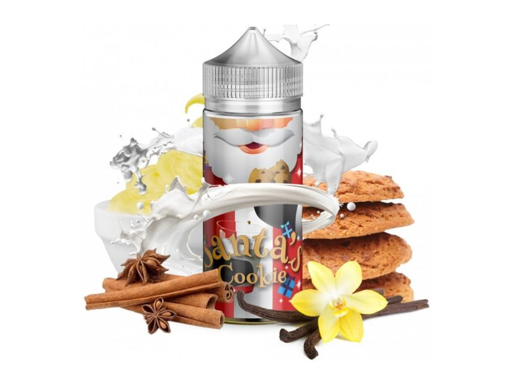 Příchuť Infamous Special Shake and Vape 20ml Santa´s Cookie