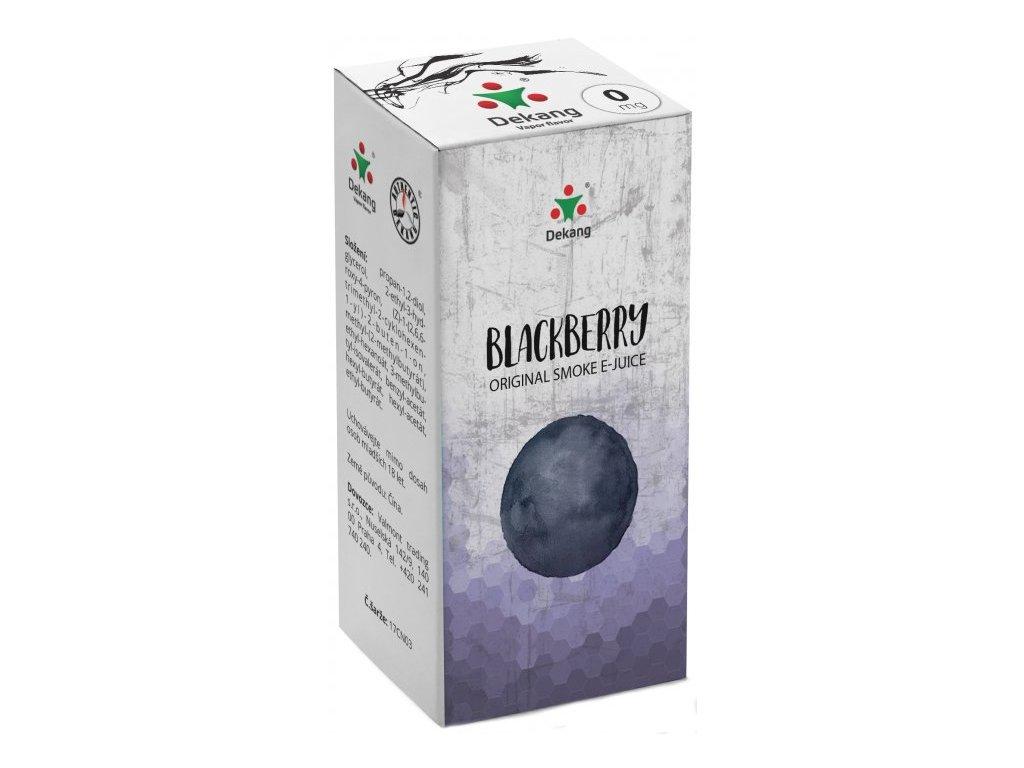 Liquid Dekang Blackberry 10ml (Ostružina)