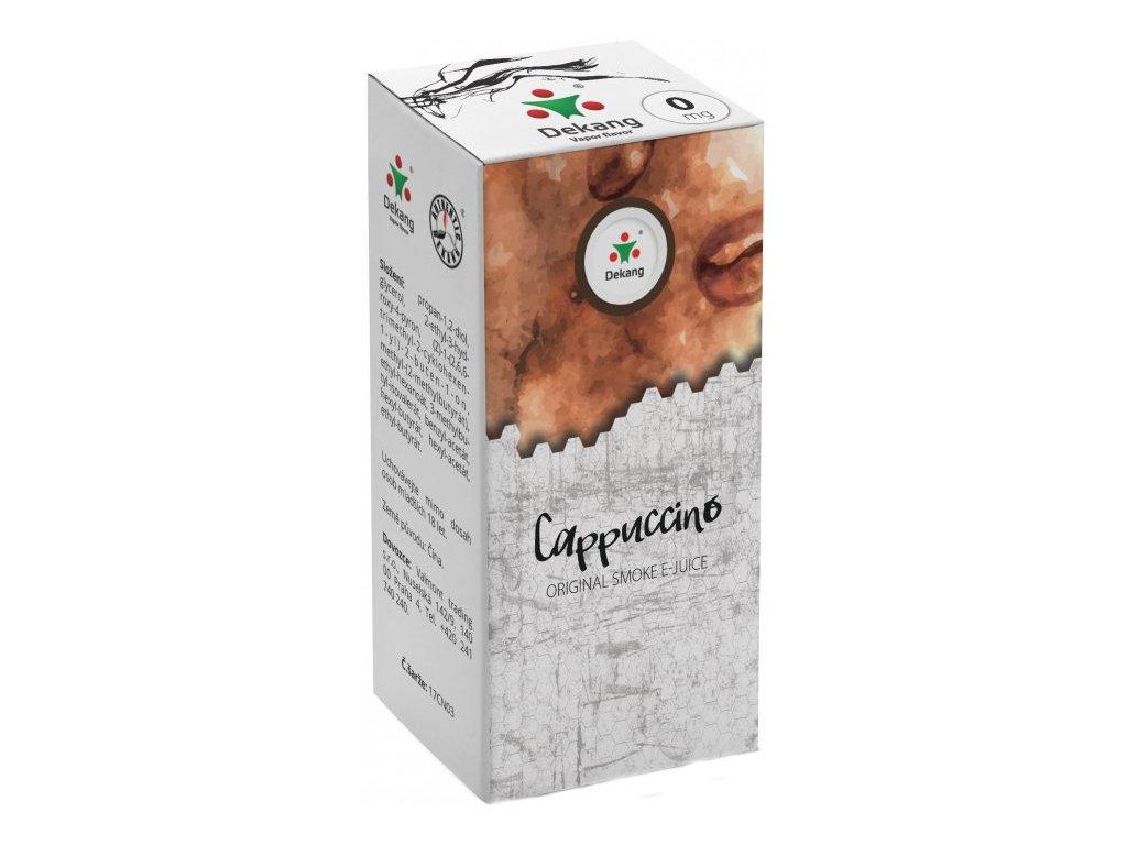 Liquid Dekang Cappuccino 10ml(Kapučíno)