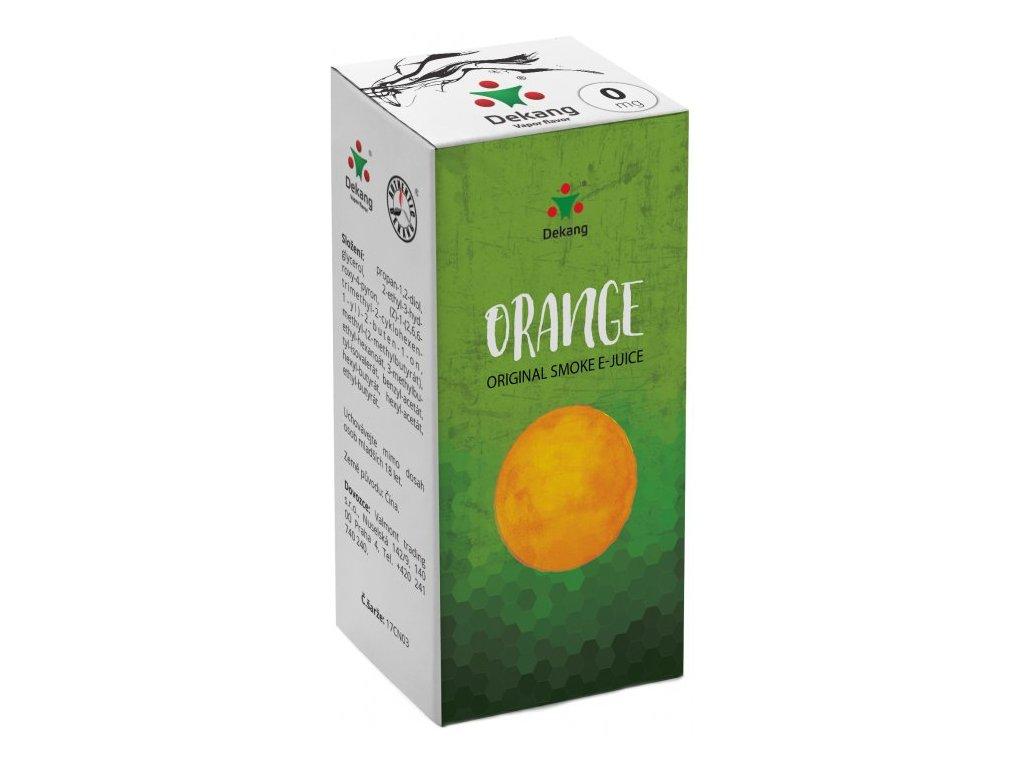 Liquid Dekang Orange 10ml (Pomeranč)