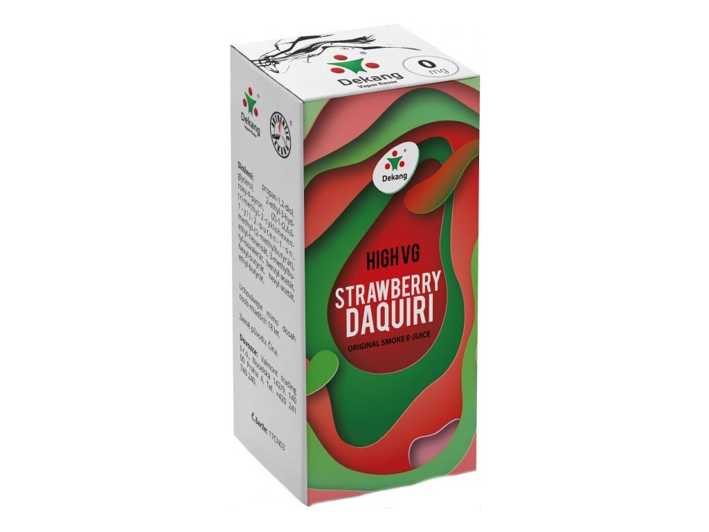 Liquid Dekang High VG Strawberry Daquiri (Jahoda)