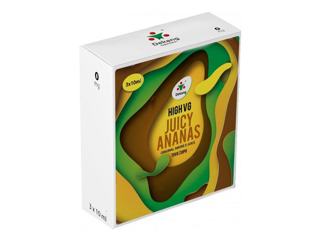 Liquid Dekang High VG 3Pack Juicy Ananas